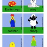 Tavaszi kártyák játékos angolozáshoz