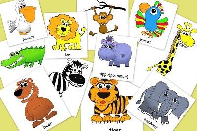 állati jó baba angol kártyák