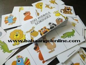 állati jó baba angol kártyák 1