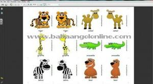 állati jó baba angol kártyák 4