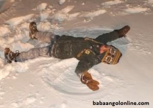 Játékos angol a hóban
