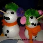 Készítsünk hóembert angolul!