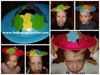 tavaszi virágos kalap