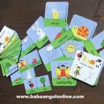 Tavaszi baba és gyerek angol kártyák
