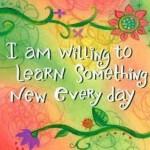 Kihívás a 27. hétre – Tanulj valami újat!