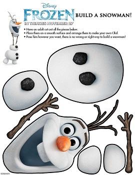 Olaf a Jégvarázsból játékos angolozáshoz