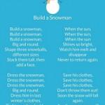 Angol gyerekdal hóemberépítéshez – Build a snowman